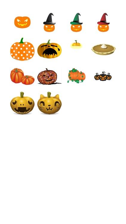 Halloween Pumpkin Sticker Pack