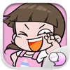 NomYen Cute Girl Stickers Emoji for iMessage
