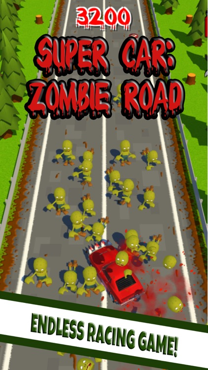 Super Car: Zombie Road