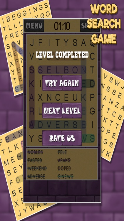 Word Search Game Pro screenshot-4