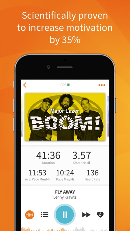 RockMyRun - Workout Music & Running Tracker screenshot-1