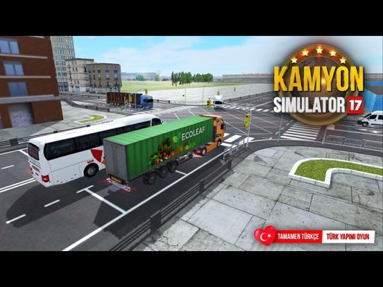 Truck Simulator 2017 ipad ekran görüntüleri