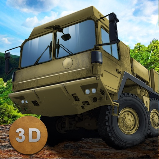 Army Truck Offroad Simulator 3D