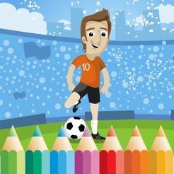 Fussball Malbuch Fur Kinder Zeichnen Und Ausmalen Im App Store
