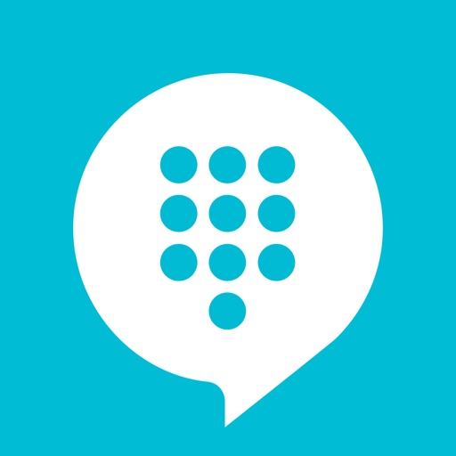 TextMe Up - Free Text & Call - Multi Phone Numbers icon