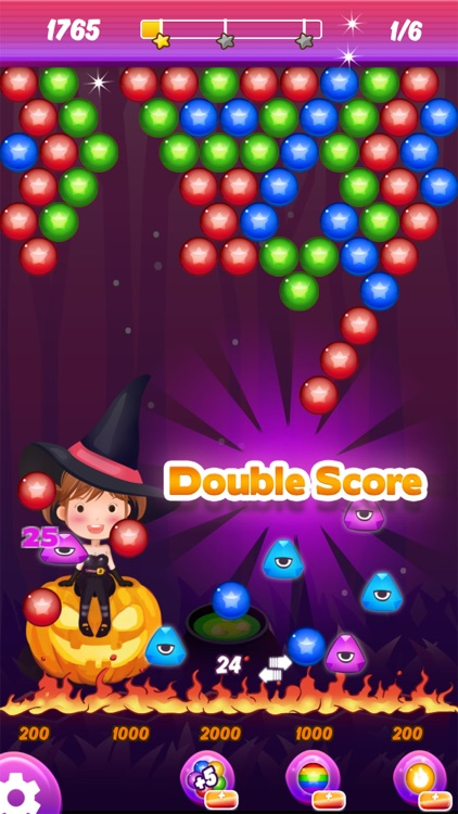 Bubble Shooter: Dark Halloween