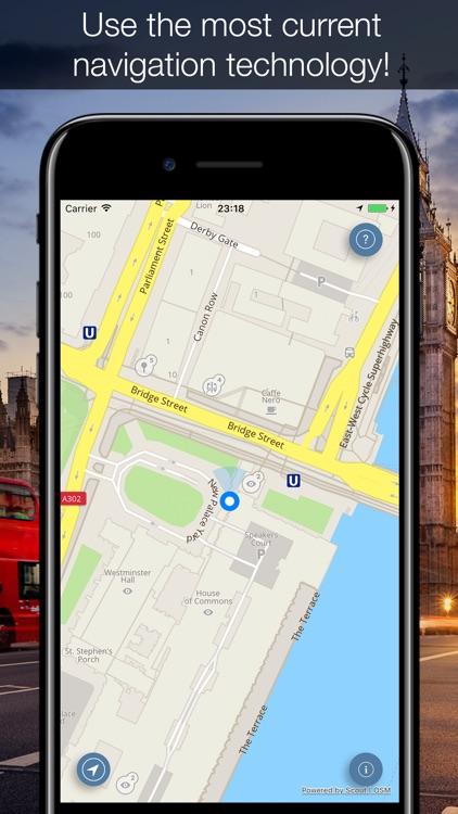 London 2017 — offline map and navigation! screenshot-4