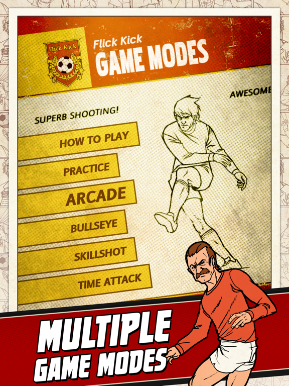 Flick Kick Football-ipad-3