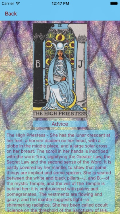 Tarot Card Reader Clear