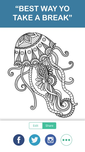 Adult Coloring Book - Free Mandala Color Therapy & on the App Store
