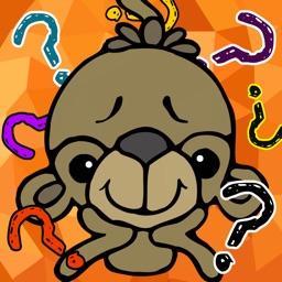 True & False animals english for children game