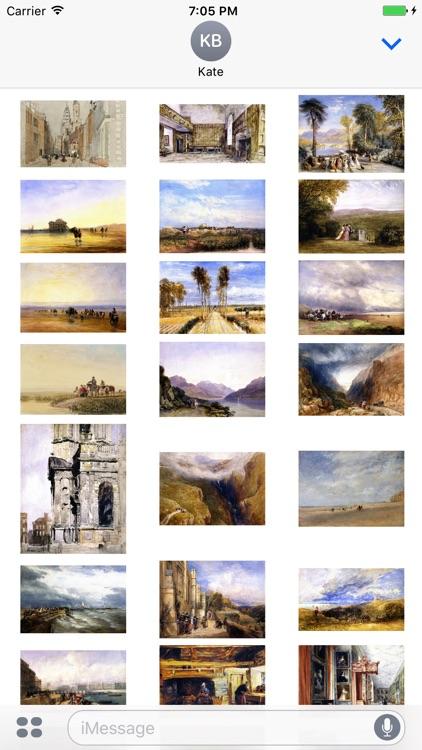 David Cox - Artworks Stickers screenshot-3
