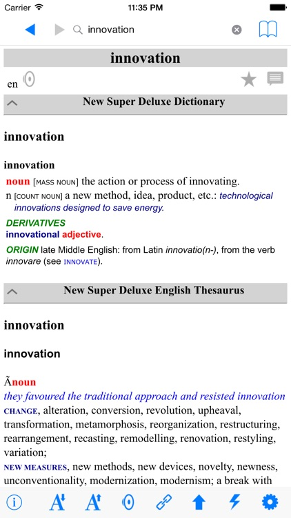 New English Japanese Deluxe Dictionary screenshot-3