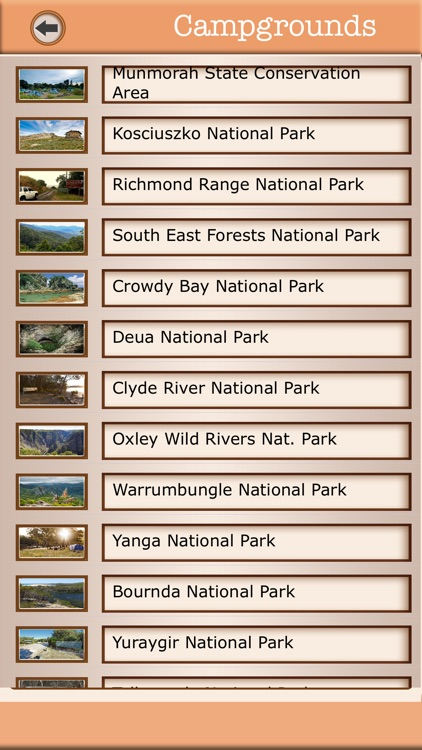 Australia - Campgrounds & Hiking Trails Guide screenshot-4
