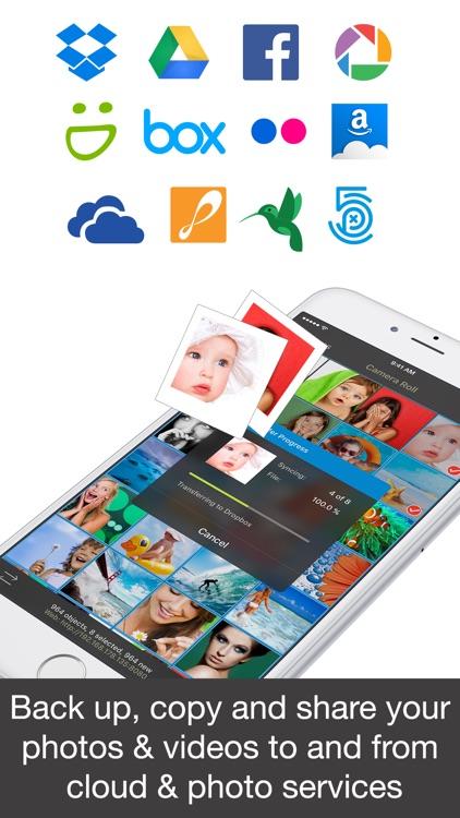 PhotoSync – transfer and backup photos & videos screenshot-3