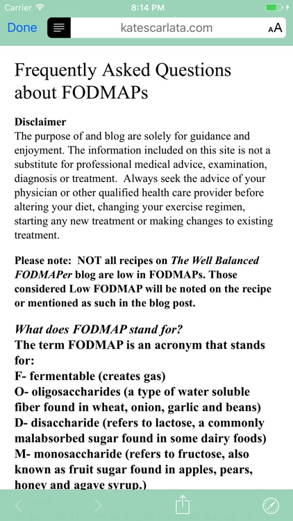 FODMAP Grocery Guide screenshot-3