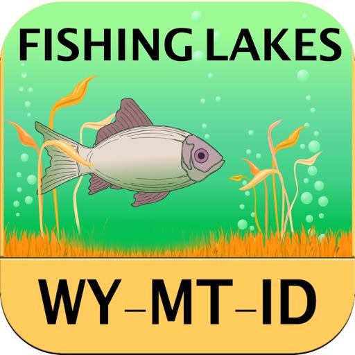 Wyoming, Montana, Idaho - Fishing Lakes
