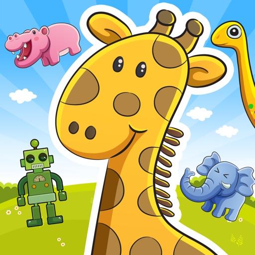 動物と遊ぼう!わくわく王国 - 子ども・赤ちゃん・幼児向けの無料ゲームアプリ