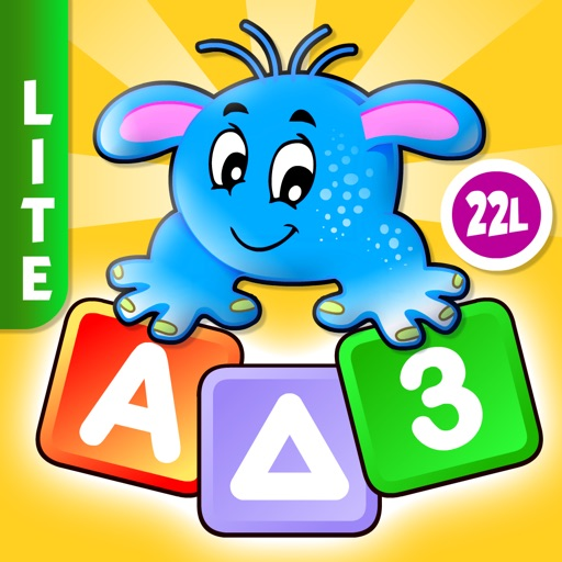 Toddler kids games ABC learning for preschool free icon