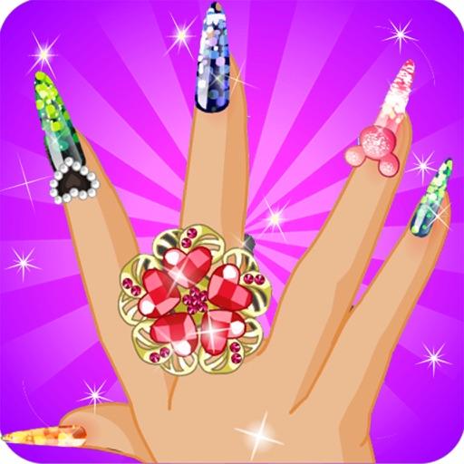 Princess Nail Salon Designs Girl Games For Free By Graux Emilie