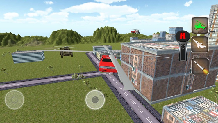 Futuristic Robot War Car: Drone Pilot Simulator screenshot-3
