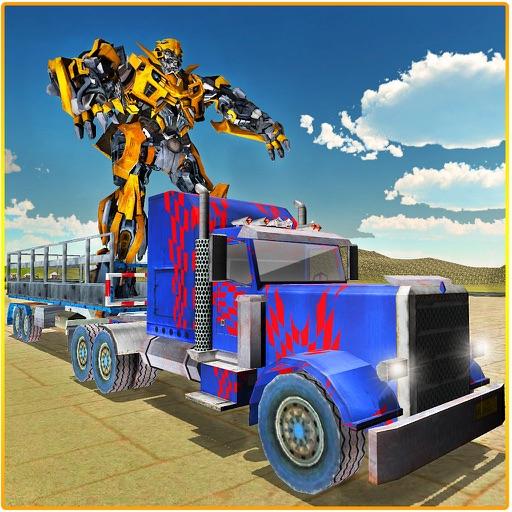 Робот Транспорт - Mega Truck Simulator Трейлер 3D