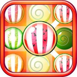 Candy Fruits Mania - Juicy Fruit Puzzle Connect