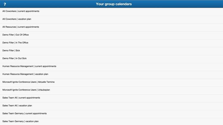 TimeFleX group calendar screenshot-3