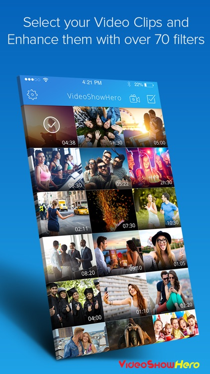 VideoShowHero | Video Editor to Make & Edit Movies screenshot-1