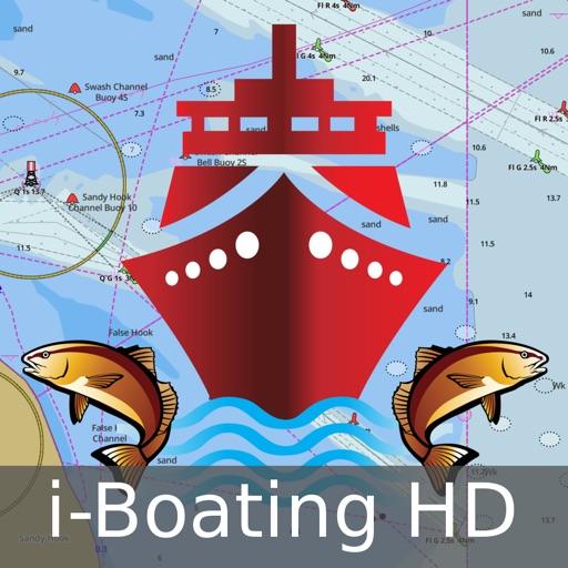 i-Boating: HD Marine Charts & Lake Fishing Maps
