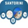 Santorini Islands Greece Offline City Maps