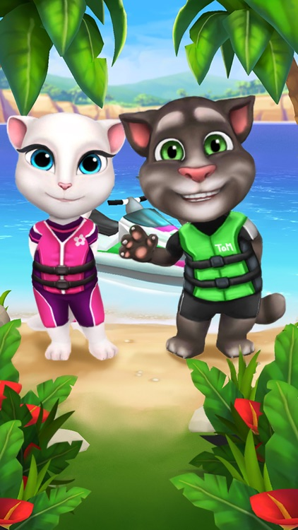 Talking Tom Jetski screenshot-4