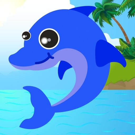 Fish Sea Animals Puzzle Fun Match 3 Games Relax Icon