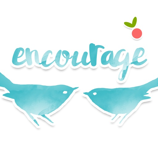 Encourage Stickers by Mojiberry