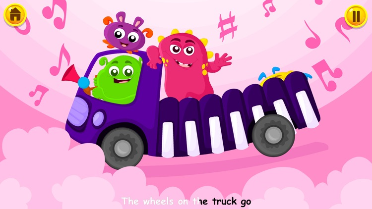 Wheels On The Bus - Kidlo Nursery Rhymes For Kids screenshot-4