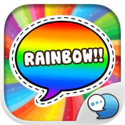 Everything is Rainbow Stickers By ChatStick 4+