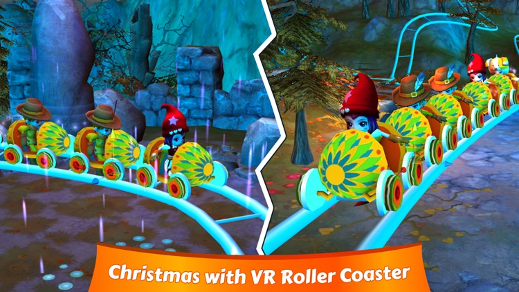 VR Christmas Roller Coaster screenshot-1