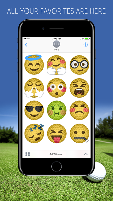 Golf Emojis screenshot 2