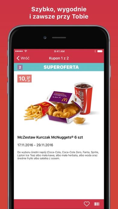 Screenshot for Kupony do McDonald's in Azerbaijan App Store