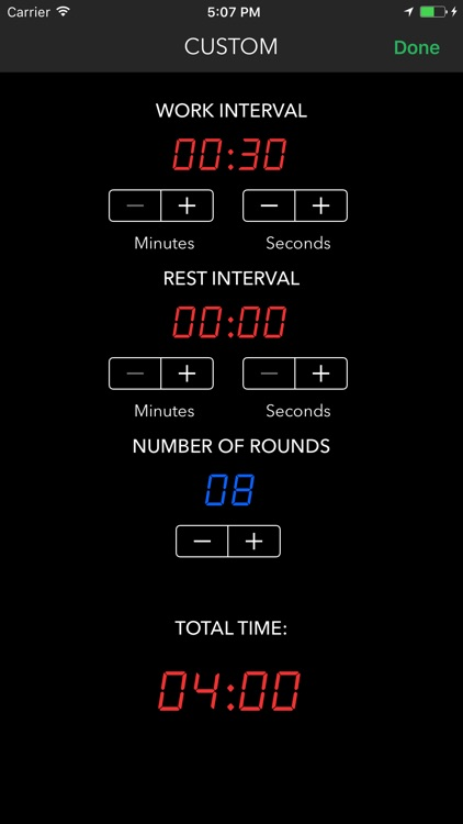 RX Timer - time your WOD and cross training