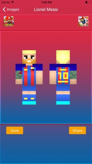 Minecraft Spielen Deutsch Skin Para Minecraft Pe De Messi Bild - Skin para minecraft pe de messi