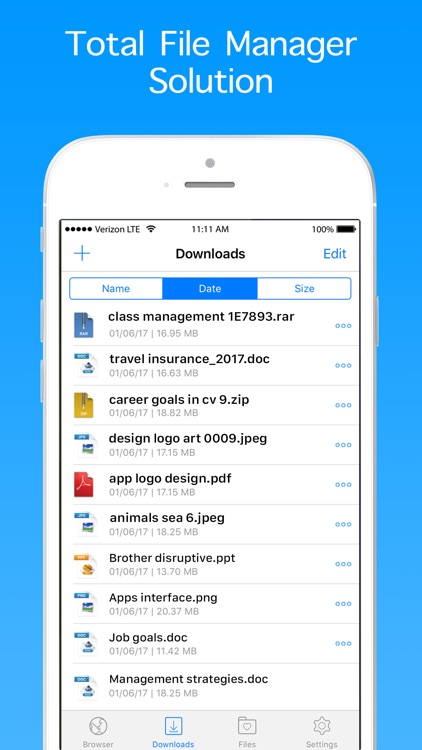 Private Browser - Web Browser & File Manager