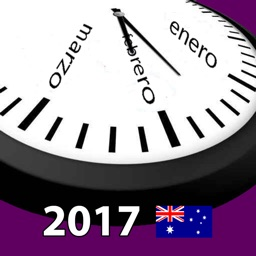 2017 Australia Holiday Calendar AdFree