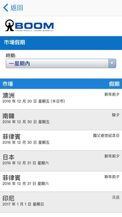 MONEX BOOM 流動交易屏幕截圖4