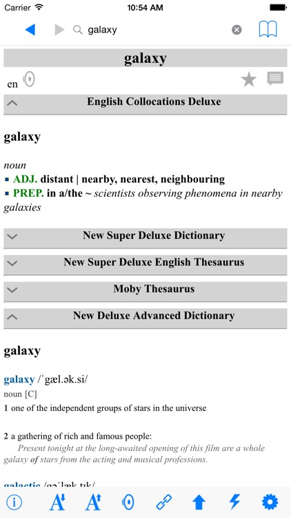 The English Dictionaries Complete Reference screenshot-3