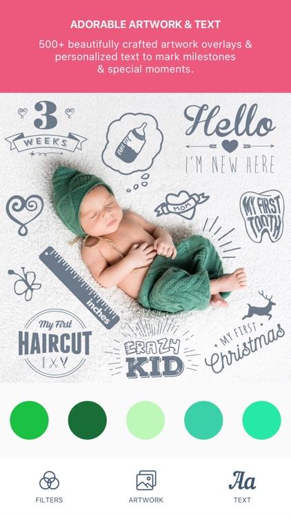 Baby Pics - Photo Editor screenshot-0