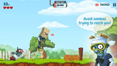 Zombie's Got a Pogo screenshot two