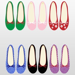 Shoes : Flats, High Heels, and Stilettos Stickers