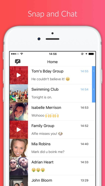 BOINK! - Snap & Chat with Friends & Groups