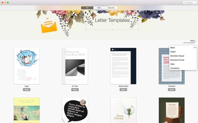Gn letter templates for pages on the mac app store gn letter templates for pages on the mac app store spiritdancerdesigns Image collections